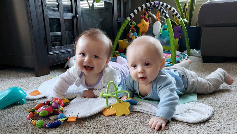6 month old babies in a Nanny-Share